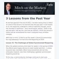 3 Lessons for Investors from the Past Year