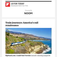 Train journeys: America's rail renaissance