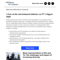 It's television's big night--here are the forces reshaping the entertainment industry