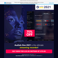Audials One 2021 - Find, stream and record music, series and movies in high quality