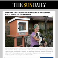 Mini libraries outside homes help neighbors build sense of community