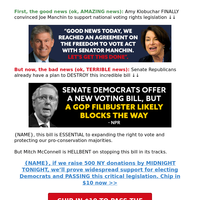 Amy Klobuchar SAVED voting rights