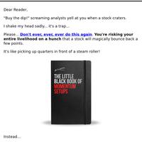 Get My Little Black Book of Trading Setups!