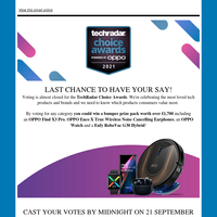 Last chance to win a bumper prize pack worth over £1,700