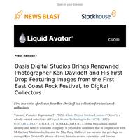 Oasis Digital Studios Brings Renowned Photographer Ken Davidoff to Digital Collectors