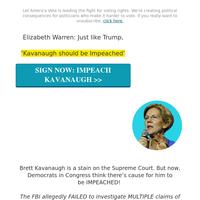 Elizabeth Warren just changed EVERYTHING →