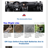 Hey, Your Top Automobile News for September  22, 2021