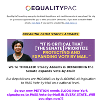 Stacey Abrams just made Republicans TREMBLE!! [read more >>]