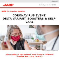 Join Us for a Coronavirus Live Event This Thursday at 7 p.m. ET