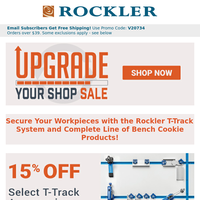 Get a Grip on These Workholding Deals + Many More Shop Upgrades on Sale!