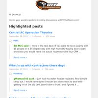 Trending posts from DIYChatRoom.com!