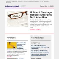 IT Talent Shortage Hobbles Emerging Tech Adoption