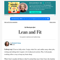 Lean and Fit: Too much free time?