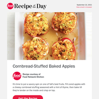 Cornbread-Stuffed Baked Apples