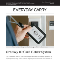 Say Farewell to Flimsy, Featureless ID Card Holders 📛