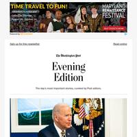 Evening Edition: Biden, Macron to meet next month amid dispute over Australian submarine deal