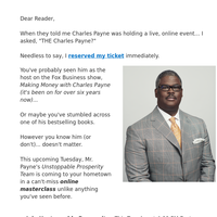 """Charles Payne: """"These 3 secrets separate you from the Wall St 1%"""""""