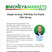 Simple Strategy Will Help You Finish 2021 Strong