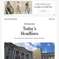 Thursday's Headlines: FDA authorizes coronavirus booster shots for people 65 and older