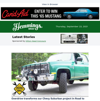 Hemmings Daily: Watch our Chevy Suburban project get a new gearbox on Road to Improvement