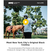 NYC's Original Black Cowboy, Best Mexican Bread and Other Treasures