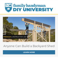 Anyone can build this backyard shed!