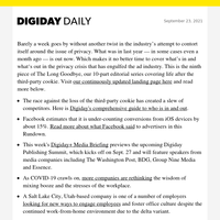 The definitive Digiday guide to what's in and out in the privacy conversation this year