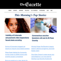 AM UPDATE: Coronavirus vaccine boosters roll out in El Paso County; Biggest ski resorts to require vaccinated workers; Caregivers charged in death of 86-year-old Colorado woman