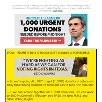 Beto O'Rourke just SHOCKED us (in a GOOD way!!) →