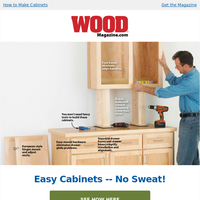 Straightforward Cabinets: Is it Difficult? Nah.