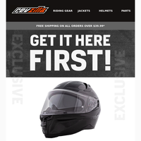 Get Charged Up For This NEW Helmet!