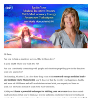 Ignite your medical intuitive powers with multisensory energy awareness techniques