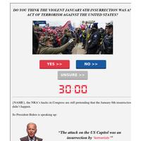 🚨 listen to Joe Biden [re: January 6th]
