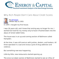 Why Rich People Don't Care About Credit Scores