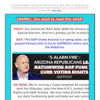 [Arizona: Mark Kelly] BEGGING {NAME}