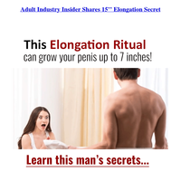 Adult Video Guy Unveils Industry 15'' Elongation Ritual