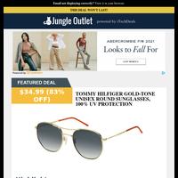 Tommy Hilfiger Pilot Sunglasses - $35