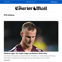 Slain dad's family speak out | Prelim final delayed by traffic | LNP want Premier probed by ethics committee