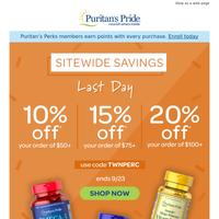 Final hours - Save 20%