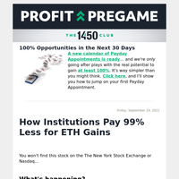 $30 Stock Lets You Get ETH Profits Without Paying $3K per Coin