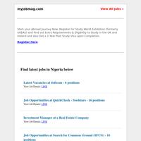 Flour Mills, Seedstars, Softcom, Mixta Nigeria, Google, KraksTV, Search for Common Ground Recruiting