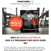 Build a Stronger, Fitter Body in Your 40s and Beyond