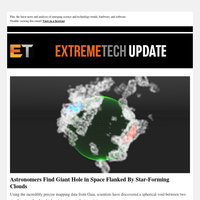 Astronomers Find Giant Hole in Space / Europe to Require USB-C Ports on All Phones / Early PlayStation 5 SSD Compatibility Tests Are In