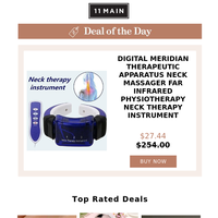 Today's Pick: Digital meridian Therapeutic apparatus Neck Massager Far infrared physiotherapy neck therapy instrument