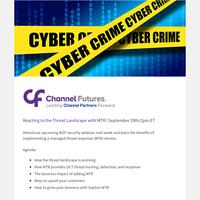 Managed Threat Response Overview Next Week