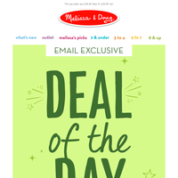 [Email Exclusive] Deal of the DAY Is...