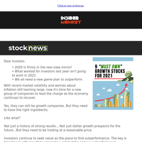 9 Growth Stocks for October