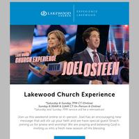 Friend, Experience Lakewood!