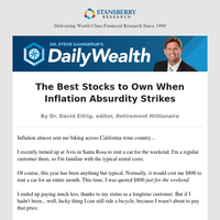 The Best Stocks to Own When Inflation Absurdity Strikes