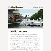 Meet the mail jumpers of Lake Geneva